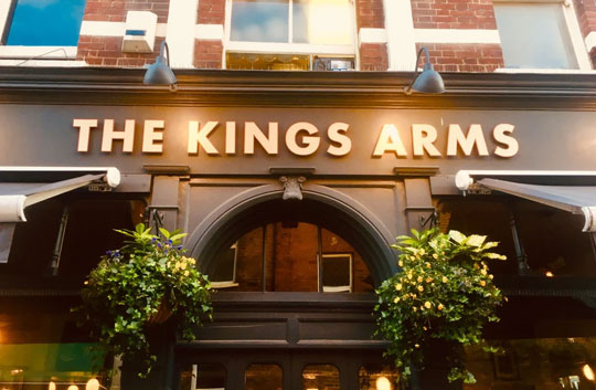 Ealing Gin at The Kings Arms