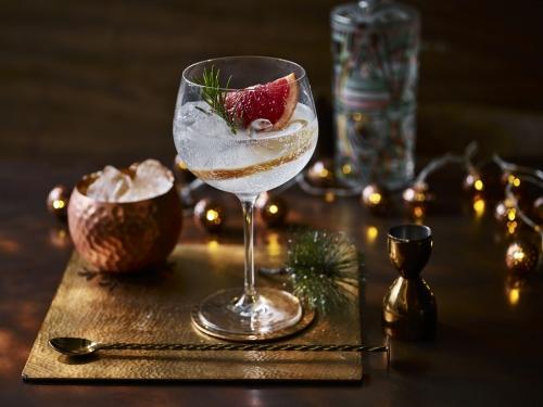 Ealing Gin Grapefruit Evening Christmas